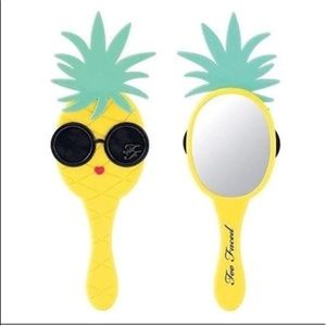 Too Faced Makeup pineapple handheld mirror